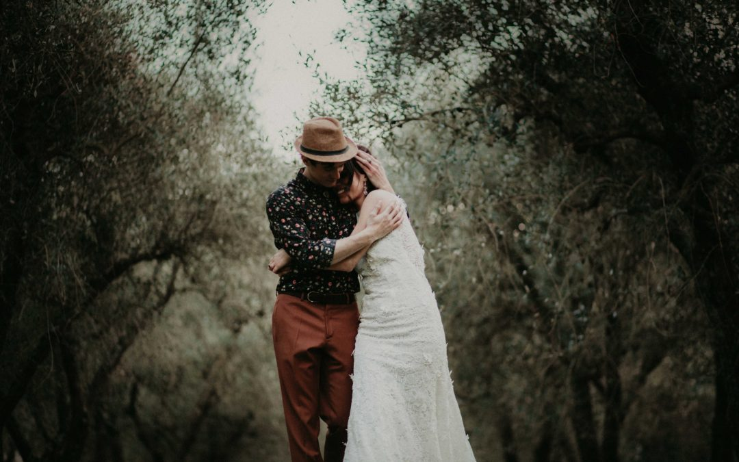 Un matrimonio tra le querce