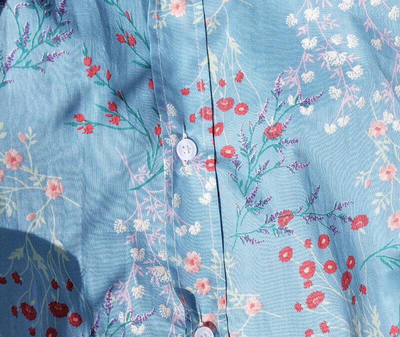 Fantasie multicolore in cotone giapponese